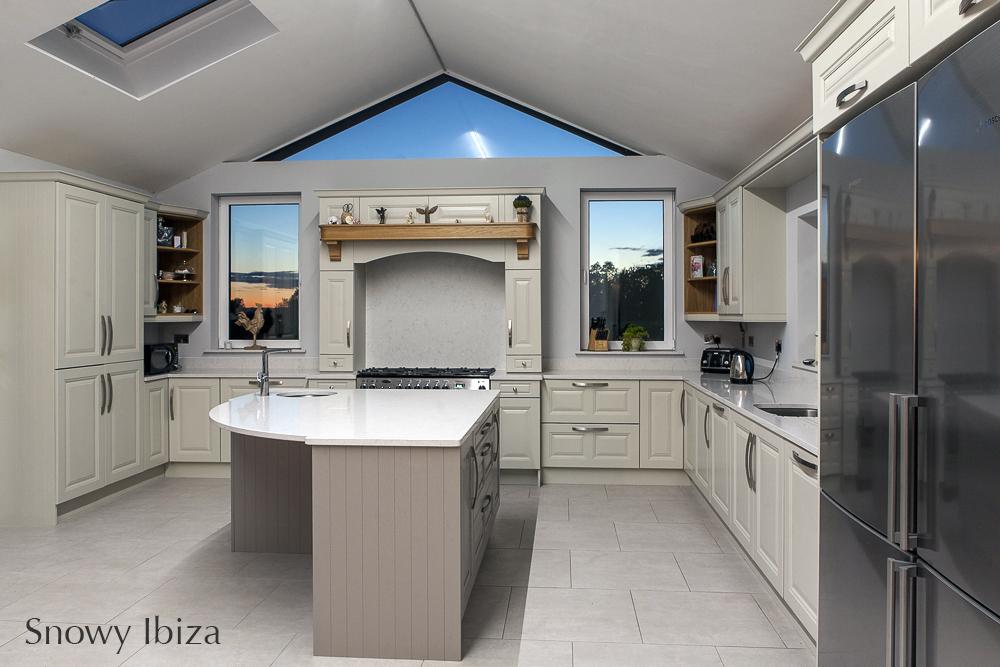 Silestone Snowy Ibiza, island, splashback, carlow, dublin, ireland,