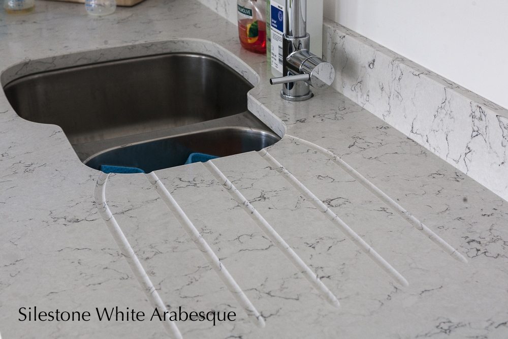 silestone white arabesque