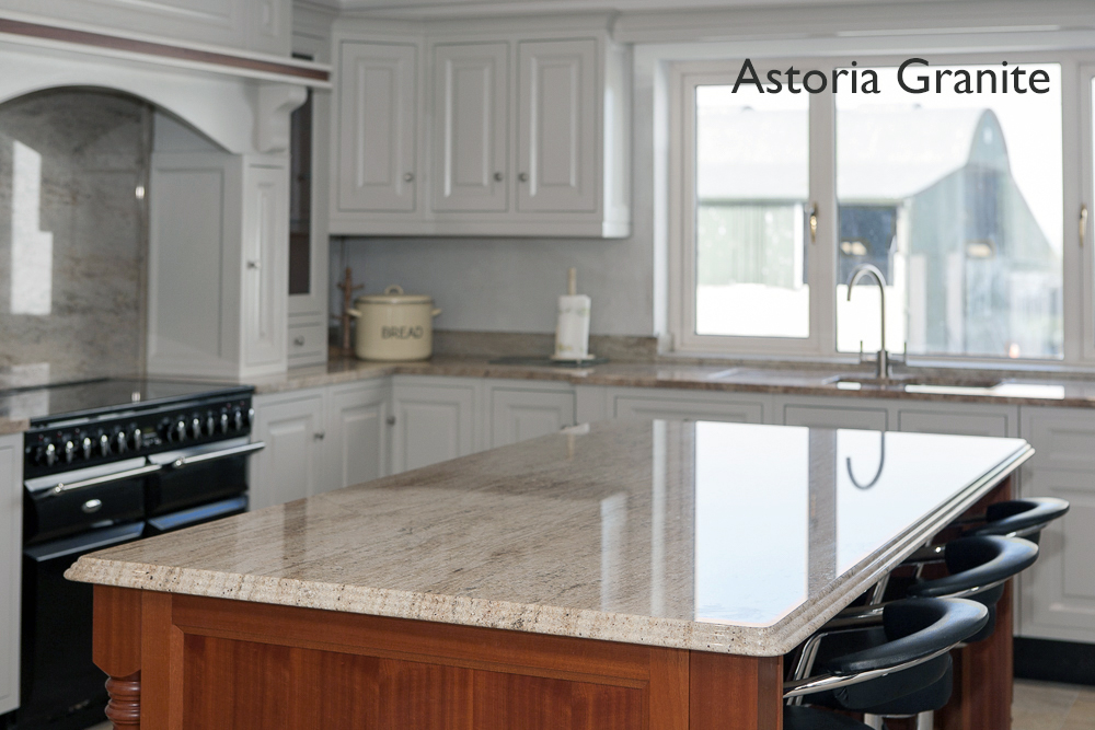 Granite Island counter top, Astoria Granite,