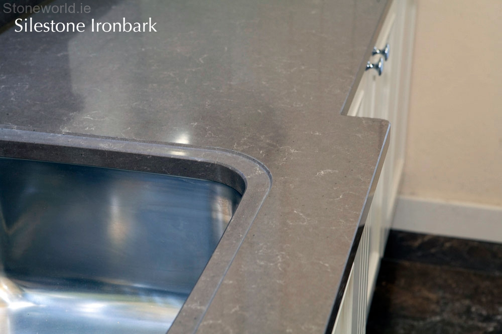 Silestone Ironbark kitchen counter tops Ireland