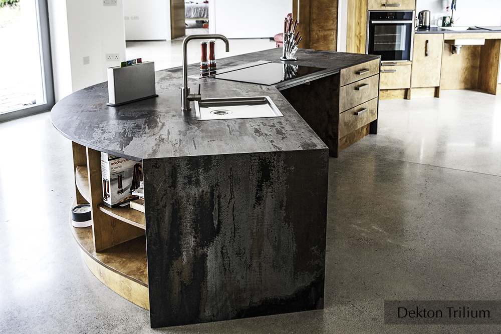 Dekton Trilium kitchen, adapted for wheelchair user