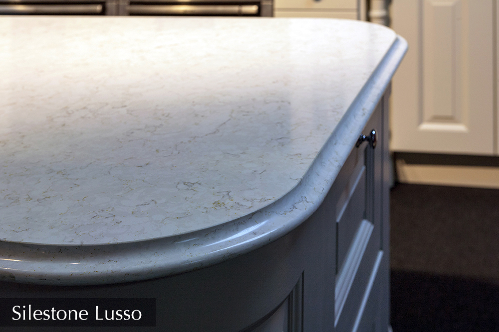 silestone lusso quartz, kitchen island, ireland,